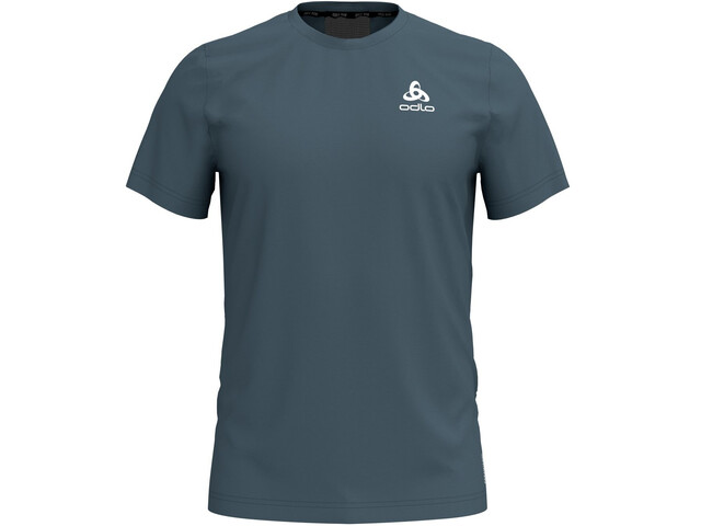Odlo BL Ceramicool Element Koszulka do biegania z krótkim rękawem Mężczyźni petrol